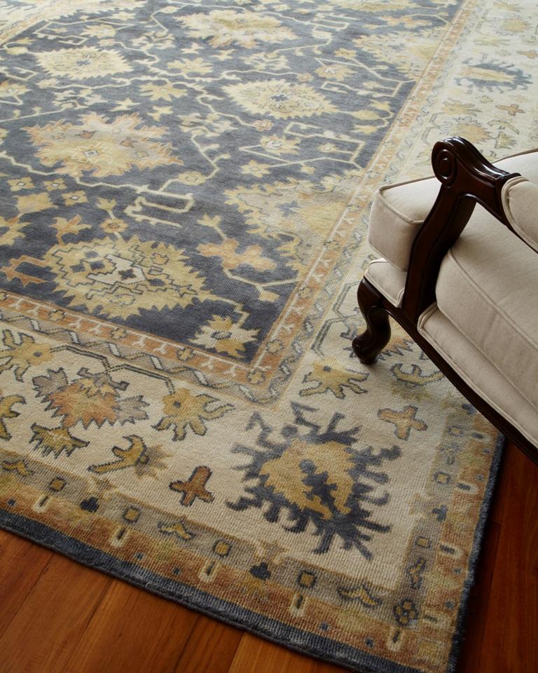Antique Weave Oushak 9934